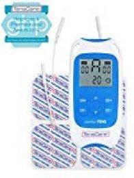TensCare PerfectTens - Estimulador muscular, color blanco y azul
