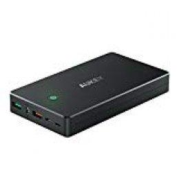 AUKEY Quick Charge 2.0 Bateria Externa 20000mAh Cargador Portatil para Nexus 6P/ 5X, iPhone XS/XS MAX/ 8/7/ 6s, Samsung S9/ S9+, iPad y más