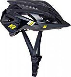 K2 Casco Unisex de Color Negro de la Marca, Unisex, Vo2 Helmet Black, Negro