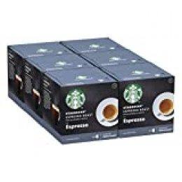 STARBUCKS Espresso Roast De Nescafe Dolce Gusto Cápsulas De Café De Tostado Intenso, 6 X Caja De 12Unidades