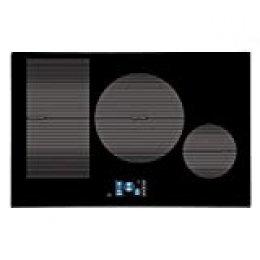 CATA IDF 8021 Pro BK (Negro, Integrado, con Placa de inducción, 1200 W, Alrededor, 18 cm), 2000 W, Vidrio, Acero Inoxidable