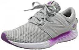 New Balance Fresh Foam Vero Racer m, Zapatillas Deportivas para Interior para Mujer, Gris (Grey Rw1), 36 EU
