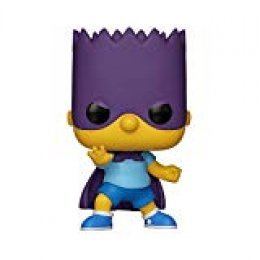 Funko Pop Animation: Simpsons-Bart-Bartman Figura Coleccionable, Multicolor (33876)