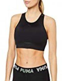 PUMA Studio Porcelain Bra Sujetador Deportivo, Mujer, Black, XS