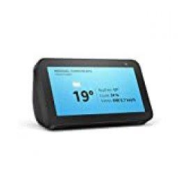 Echo Show 5 reacondicionado certificado, una pantalla inteligente y compacta con Alexa, negro