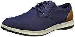 Skechers DARLOW REMEGO, Zapatillas para Hombre, Tela Vaquera Azul, 39.5 EU
