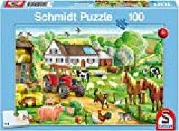 Schmidt Spiele 56003  - Granja Alegre, 100 Partes