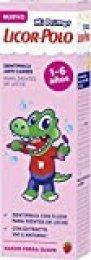 Licor del Polo - Dentífrico Junior 1-6 años - Protege y fortalece los dientes de leche - 3 uds de 50ml