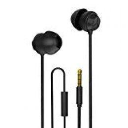 Docooler X110Dormir de Auriculares Anti de Ruido Auriculares in-Ear de Ultra Suave de Silicona de oído Auricular 3,5mm engancharse Auricular para IP Android Smartphones
