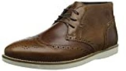 Red Tape Aldford, Botas Chukka para Hombre, Marrón (Tan Leather), 10 UK EU
