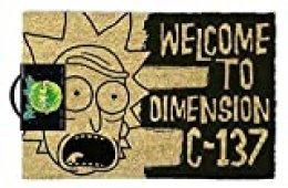 Rick & Morty - Doormat, Dimension C-137