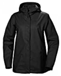 Helly Hansen Moss Rain Shell Chaqueta Impermeable con Capucha, Mujer