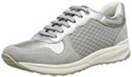 Geox D Airell A, Zapatillas para Mujer, Gris (Lt Grey C1010), 36 EU