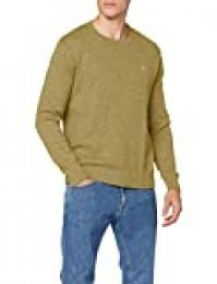 Tommy Hilfiger TJM Essential Textured Sweater Sudadera, Verde (Uniform Olive L8q), Large para Hombre
