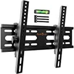 Soporte de TV Perlegear - Soporte de TV en Pared Inclinable para Televisores de 26 a 55 Pulgadas con Carga de 45 kg, VESA máx. De 300 x 300 mm