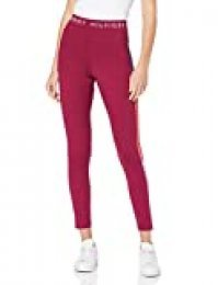 Tommy Hilfiger Coco Legging Leggings, Morado (Beet Red 840), W38 (Talla del Fabricante: Large) para Mujer