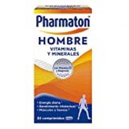 Pharmaton | Multivitaminas | Energía diaria | Hombre 30 comprimidos | Ayuda a los hombres a mantener su vitalidad cada día