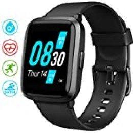 UMIDIGI UFit Smartwatch, Reloj Inteligente con Oxímetro (SpO2) y Monitoreo Frecuencia Cardíaca para Hombre Mujer Rastreador de Actividad de Monitoreo para iOS y Android
