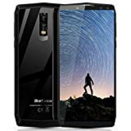 "Blackview P10000 Pro - Smartphone de 6.0"" 18: 9 (11000mAh Batería 5V/5A Carga Rápida, Octa Core 4GB RAM + 64GB ROM, 4 Cámaras 16MP+0.3MP 13MP+0.3MP, Smartphone Dual SIM, Android 7.1, OTG,Face ID"