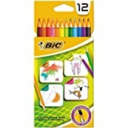 BIC 880537 laápiz de color - Lápiz de color (Hexagonal)
