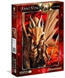 Clementoni- Puzzle 1000 Piezas Anne Stokes Inner Strenght (39464.7)