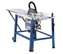 Scheppach 3901302920Sierra circular de mesa hs120o, prolongación de mesa, HW–Hoja de sierra, hojas Diámetro: 315mm, 2800W, 400V