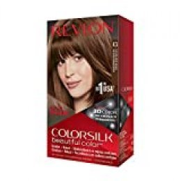 Revlon ColorSilk Tinte de Cabello Permanente Tono #43 Castaño Dorado Medio