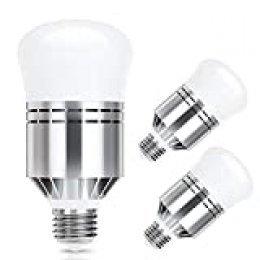Haofy Bombillas Sensor de Luz LED 7W E26/E27 Bombillas Lámpara de Lluminación (12w 3 Pieza)