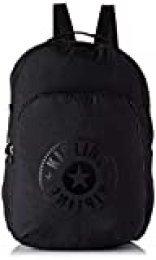 Kipling SEOUL PACKABLE - Mochila escolar, 22.5 liters, Negro (BLACK LIGHT)