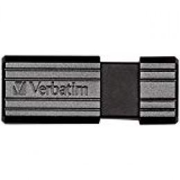 Verbatim 49071 - Memoria USB de 128 GB (10 MB/s), Color Negro