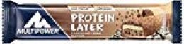 Multipower Protein Layer, Sabor Cookies & Cream - 18 Barras