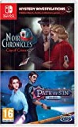 Mystery Investigation 1: Noir Chronicles: La Ciudad De Crimen + Path Of Sin: Avaricia