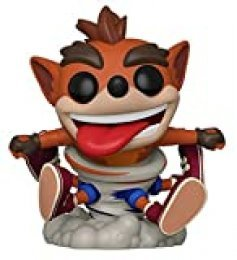Funko Pop Figura De Vinil Games Bandicoot-Crash Coleccionable, Multicolor, Estándar (43343)
