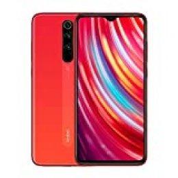 Xiaomi Redmi Note 8 Pro Smartphone 64MP Quad Camera Mtk Heilo G90T Octa Core 6.53''FHD NFC Mobile Phone Orange (6+128G)