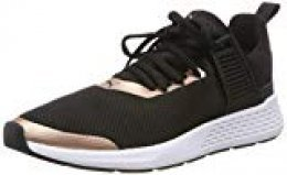 PUMA Insurge Mesh 2.0, Zapatillas Unisex Adulto, Black-Rose Gold White, 44 EU