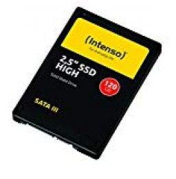 Intenso 3813430 Disco Duro sólido de 120 GB SATA III, Negro
