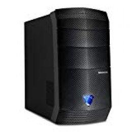 Medion Erazer P4609D - Ordenador sobremesa (Intel Core i7-7700, 8GB de RAM, HDD de 1TB + SSD de 120GB, NVIDIA GeForce GTX-1060 de 6GB, Windows 10 Home) negro [España]