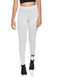 PUMA Essentials Logo W Legging Deportivo de Talle Alto, Mujer, Gris (Light Gray Heather), L