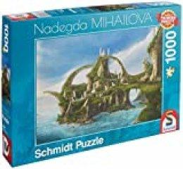 Schmidt Spiele- Nadegda Mihailova - Puzzle de 1000 Piezas, Color carbón (59610)