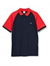 Jack & Jones JCOTOLGA Polo SS Camisa, Sky Captain, L para Hombre