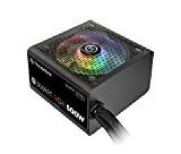Thermaltake Smart RGB 500W - Fuente de alimentación de 500 W, Color Negro