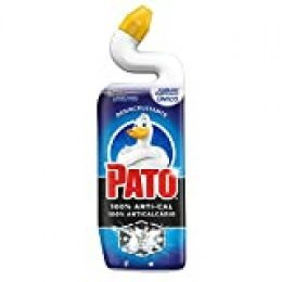 Pato - WC Anti Cal, Limpiador para Inodoro contra la cal, 750 ml