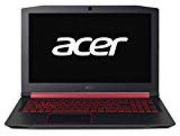 "Acer Nitro 5 - Ordenador Portátil de 15.6"" FullHD(Intel Core i5-8300H, 8GB de RAM, 1TB HDD + 128GB SSD, NVIDIA GeForce GTX 1050Ti 4GB, Linux) Negro - Teclado QWERTY Español"