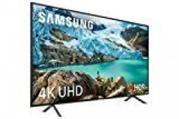 "Samsung UE50RU7105 - Smart TV 2019 de 50"" con Resolución 4K UHD, Ultra Dimming, HDR (HDR10+), Procesador 4K, One Remote Experience, Apple TV y Compatible con Alexa"