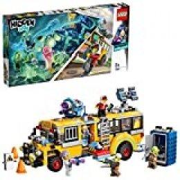 LEGO - Hidden Side Autobús de Intercepción Juguete de construcción con realidad aumentada, incluye bus customizado y varias minifiguras para recrear aventuras, Novedad 2019 (70423)