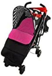 Saco/Cosy Toes Compatible con Koochi pushmatic carrito de bebé, color rosa