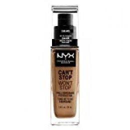 NYX Professional Makeup Base de Maquillaje Can't Stop Won't Stop Foundation, Pack de 1