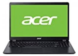 "Acer Aspire 3 - Ordenador Portátil de 15.6"" FHD ComfyView LED LCD (Intel Core i3-6006U, 8 GB de RAM, SSD de 512GB, Sin sistema operativo) negro - Teclado QWERTY Español"