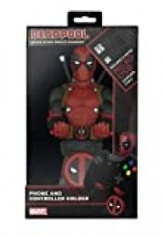 Cable guy Deadpool, soporte de sujeción o carga para mando de consola y/o smartphone de tu personaje favorito con licencia de Marvel. Producto con licencia oficial. Exquisite Gaming