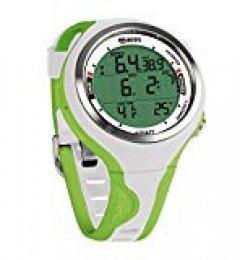 Mares Smart Reloj, Unisex Adulto, White/Lime, One Size
